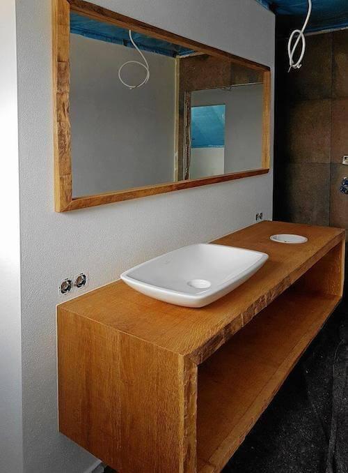 Badezimmermöbel eiche massiv  Badmoebel-massive-eiche - Dein Schreiner