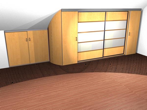 3d cad planung schreinerei m bel und innenausbau. Black Bedroom Furniture Sets. Home Design Ideas