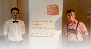 """Michael Neuberger – Preisträger im Wettbewerb """"Die Gute Form"""" der Schreinerinnung"""